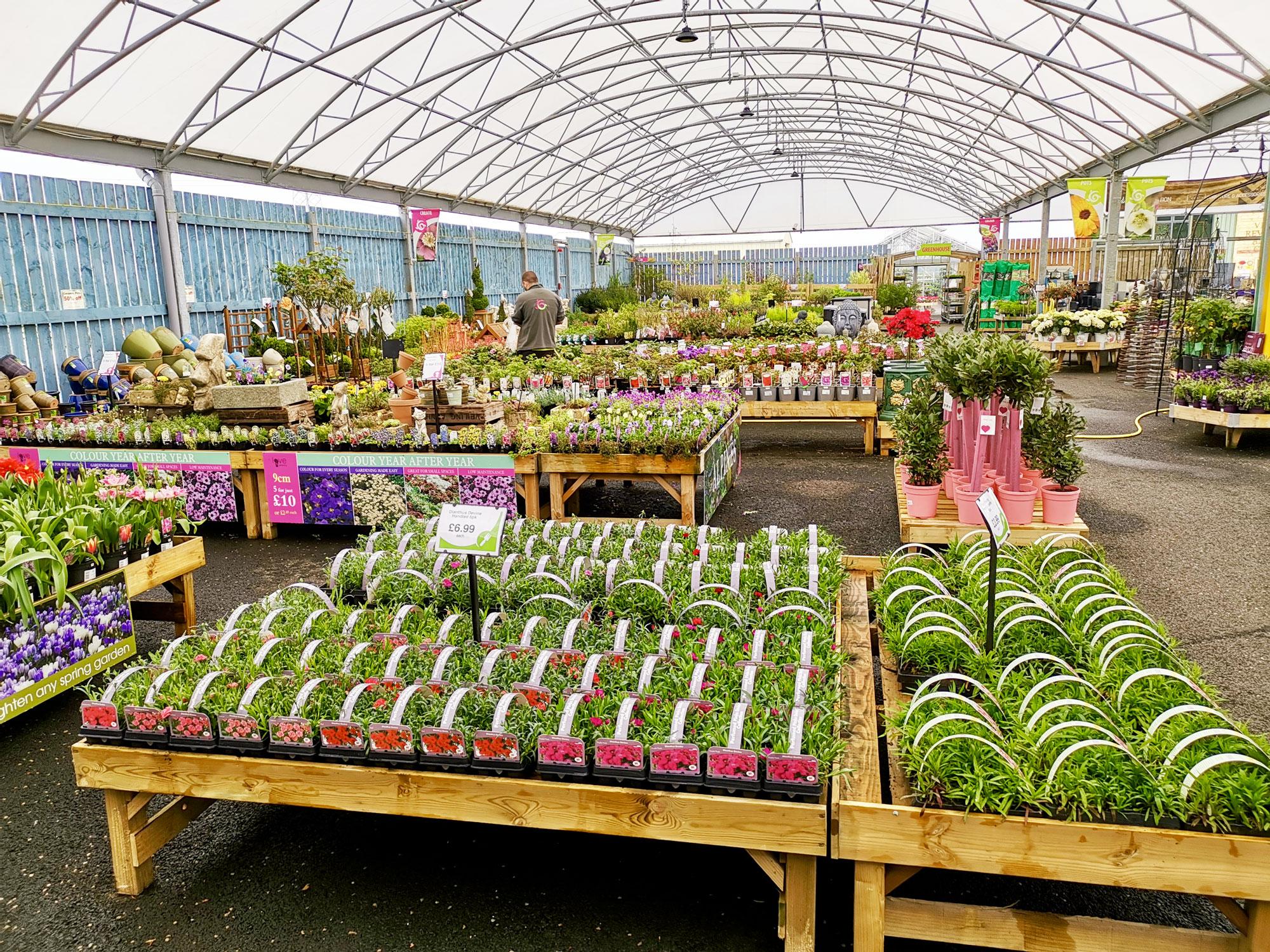 Garden Centre: Garden Centre & Plants : Gemmell's Garden Centre Ayrshire
