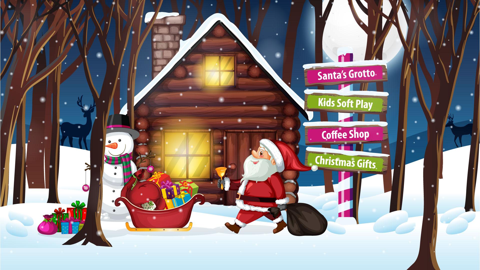 Garden Centre: Christmas Santa's Grotto : Gemmell's Garden Centre Ayrshire